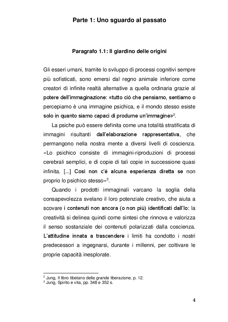 Anteprima della tesi: Alterazioni di coscienza: tra scienza e misticismo, Pagina 3