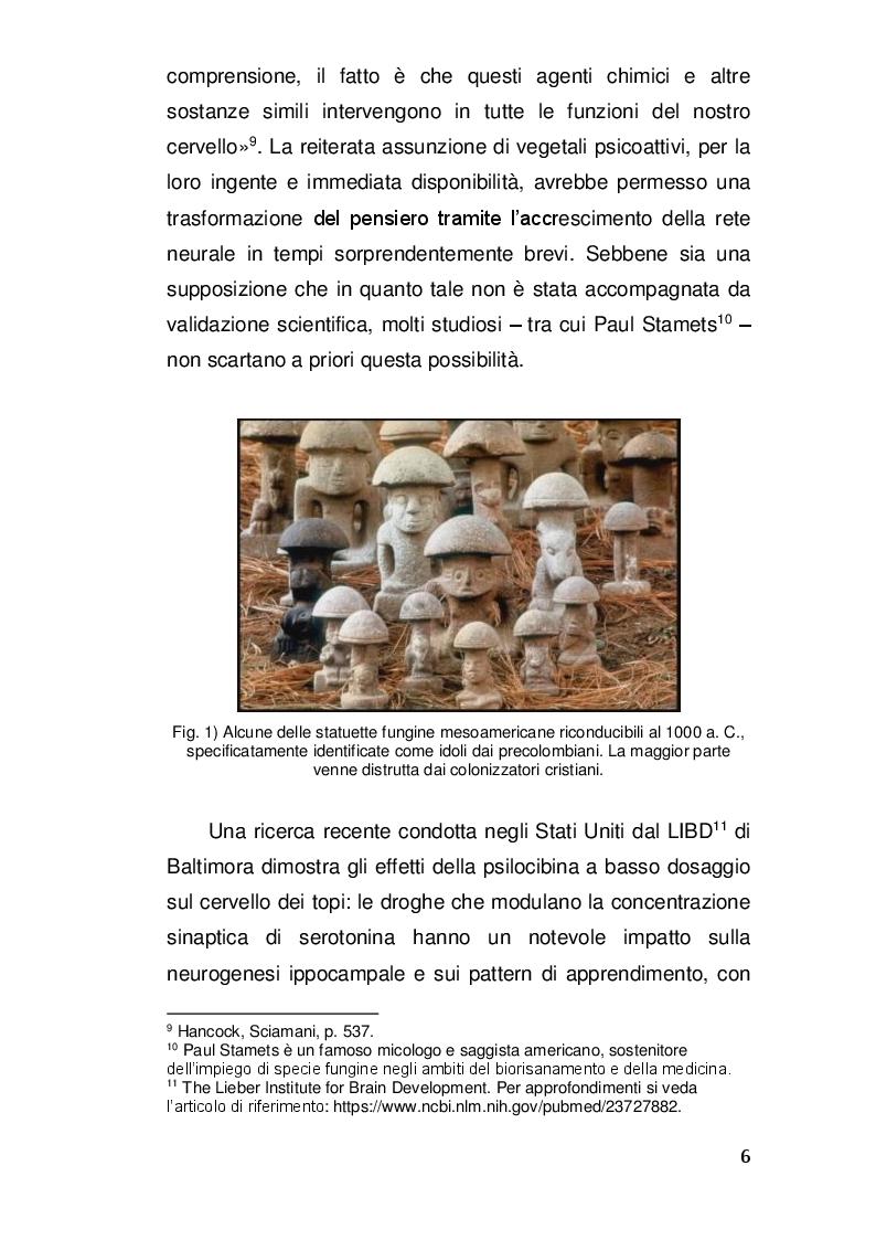 Anteprima della tesi: Alterazioni di coscienza: tra scienza e misticismo, Pagina 5