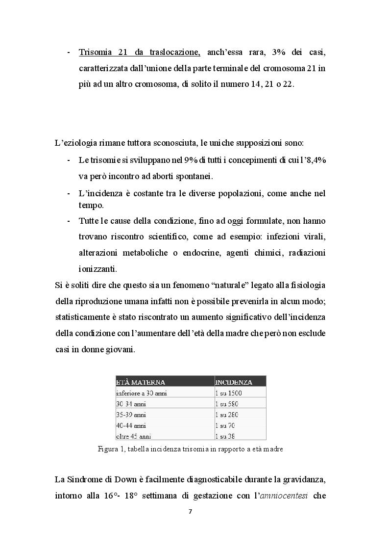 Anteprima della tesi: Basket - Yoga - Tai Chi per migliorare gli aspetti motori, cognitivi e relazionali nei bambini con Sindrome di Down, Pagina 6
