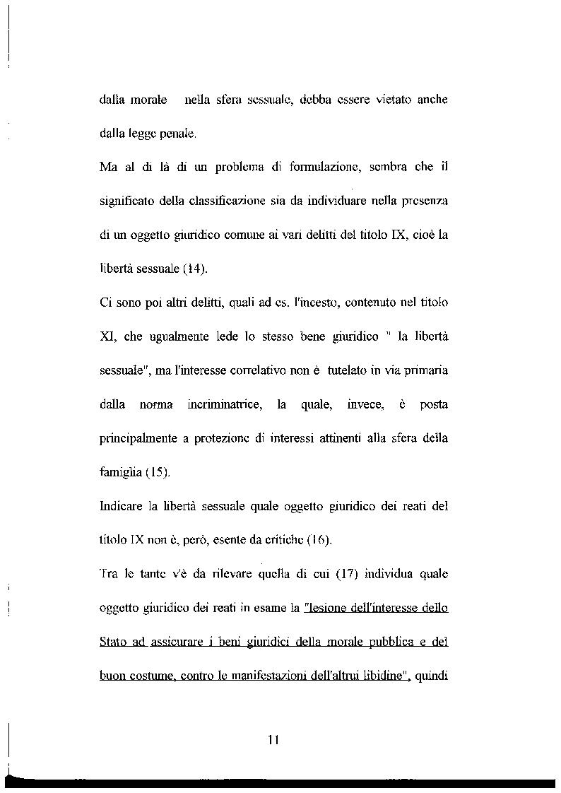 Anteprima della tesi: L'abuso sessuale sui minori: aspetti normativi e medico sociali., Pagina 6