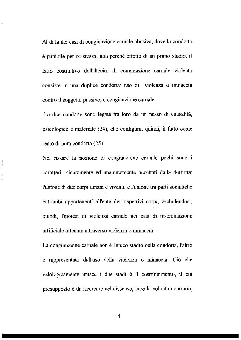 Anteprima della tesi: L'abuso sessuale sui minori: aspetti normativi e medico sociali., Pagina 9