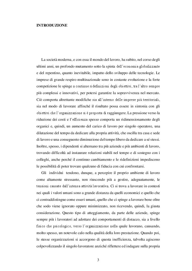 Anteprima della tesi: IL BURNOUT - Stress emotivo nelle professioni d'aiuto, Pagina 2
