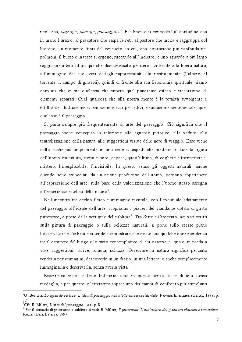 Anteprima della tesi: Geografia e paesaggio. La Sirena di Tomasi di Lampedusa., Pagina 3