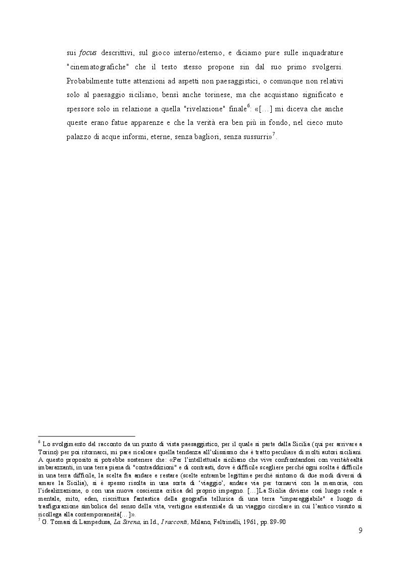 Anteprima della tesi: Geografia e paesaggio. La Sirena di Tomasi di Lampedusa., Pagina 5
