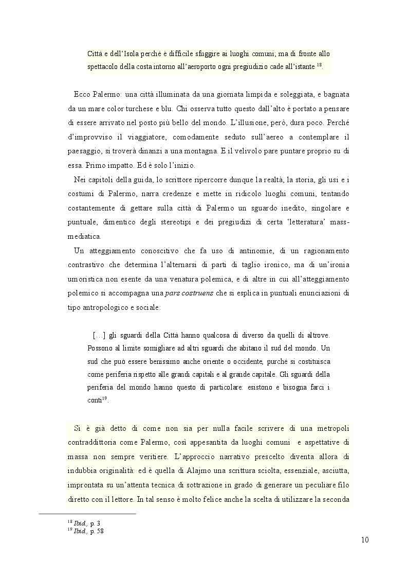 Estratto dalla tesi: L'Alto Veliero oltre lo Stretto: la letteratura della Sicilia oltre le strettoie dell'esistente.