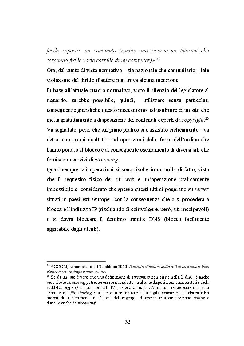 Estratto dalla tesi: Le immagini ed il diritto d'autore sul web