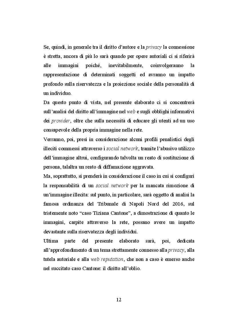 Anteprima della tesi: Le immagini ed il diritto d'autore sul web, Pagina 7