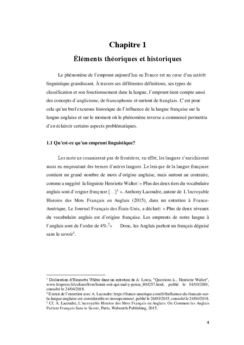 Anteprima della tesi: Do you speak Macron? À propos des anglicismes du president francais, Pagina 5