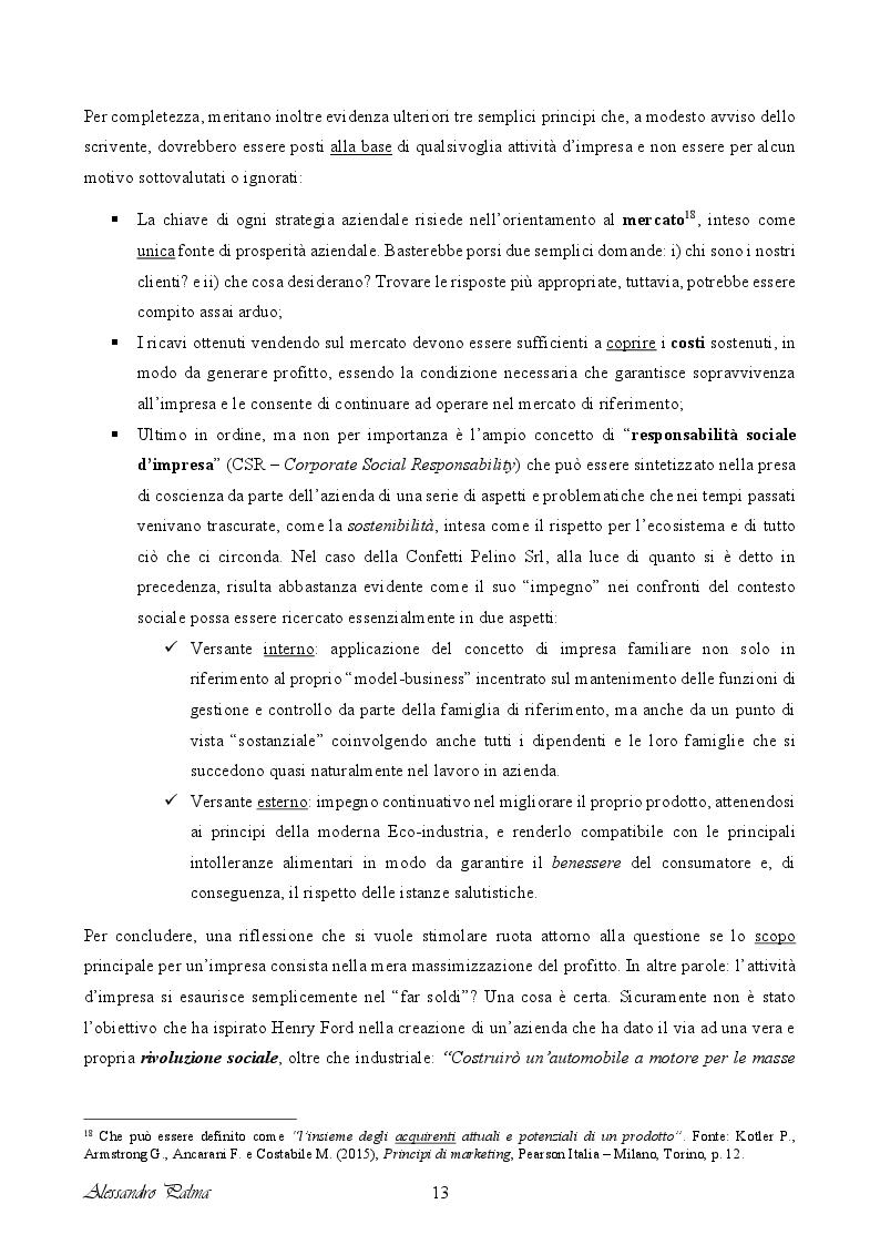 Anteprima della tesi: Analisi di fattibilità riguardante il processo d'internazionalizzazione di una PMI Italiana: il caso Confetti Pelino S.r.l., Pagina 5