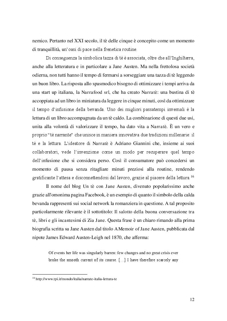 Estratto dalla tesi: Mansfield Park: Jane Austen nell'epoca dei social network
