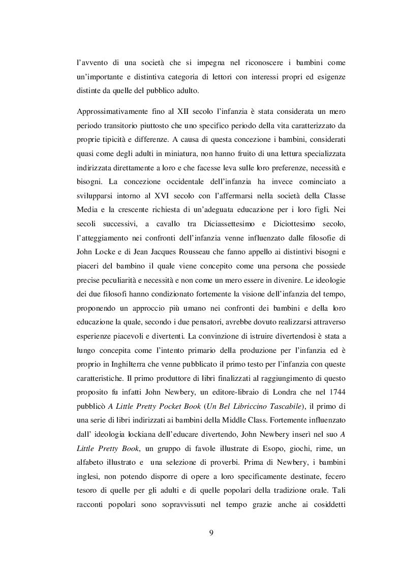 Anteprima della tesi: INSEGNARE E APPRENDERE L'INGLESE CON UN RACCONTO DI ROALD DAHL. Un progetto didattico per la scuola primaria, Pagina 7