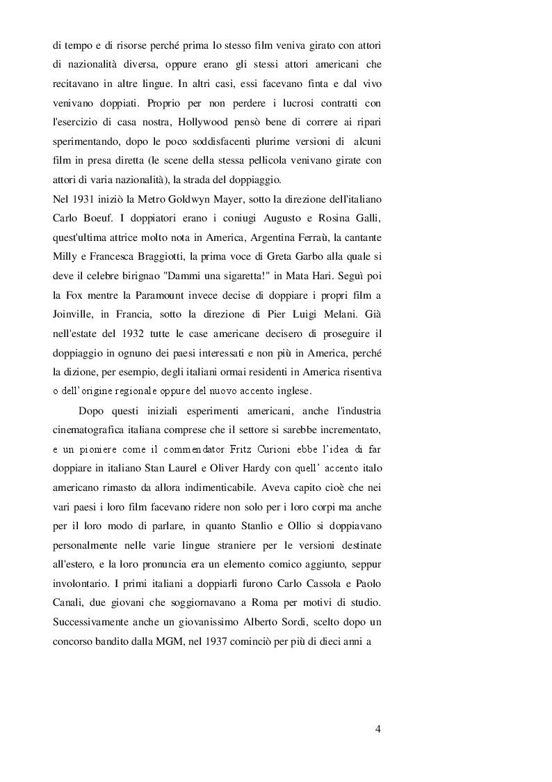 Anteprima della tesi: DOPPIAGGIO O SOTTOTITOLAZIONE - Una scelta nell'apprendimento delle lingue straniere, Pagina 5