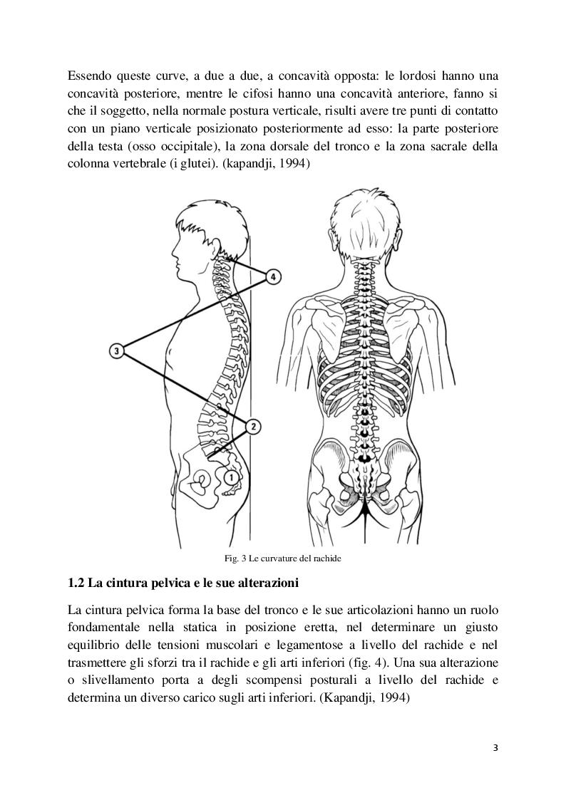 Anteprima della tesi: L'analisi posturale e la pedana stabilometrica-propriocettiva, Pagina 4