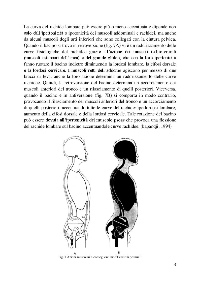 Anteprima della tesi: L'analisi posturale e la pedana stabilometrica-propriocettiva, Pagina 7