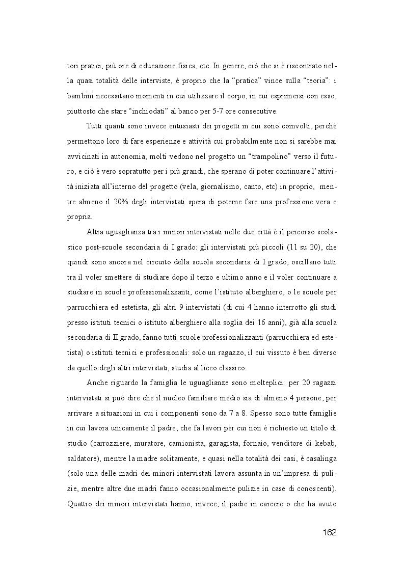 Anteprima della tesi: La dispersione Scolastica nei quartieri più critici di Napoli e Palermo: quando l'istruzione può rappresentare la cura al suo stesso malessere, Pagina 3