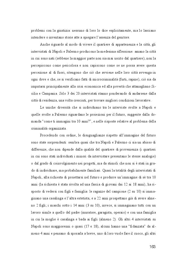 Anteprima della tesi: La dispersione Scolastica nei quartieri più critici di Napoli e Palermo: quando l'istruzione può rappresentare la cura al suo stesso malessere, Pagina 4