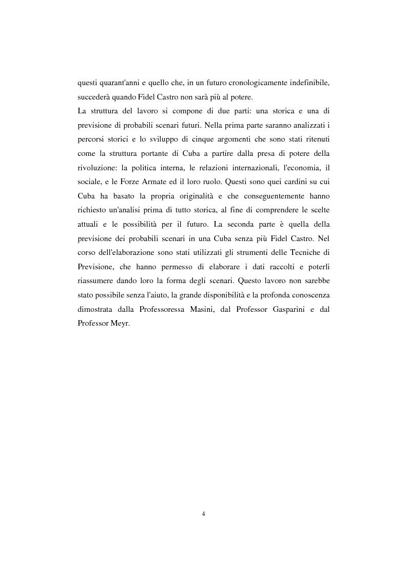 Anteprima della tesi: Cuba: quarant'anni di socialismo reale e prospettive per il futuro, Pagina 2
