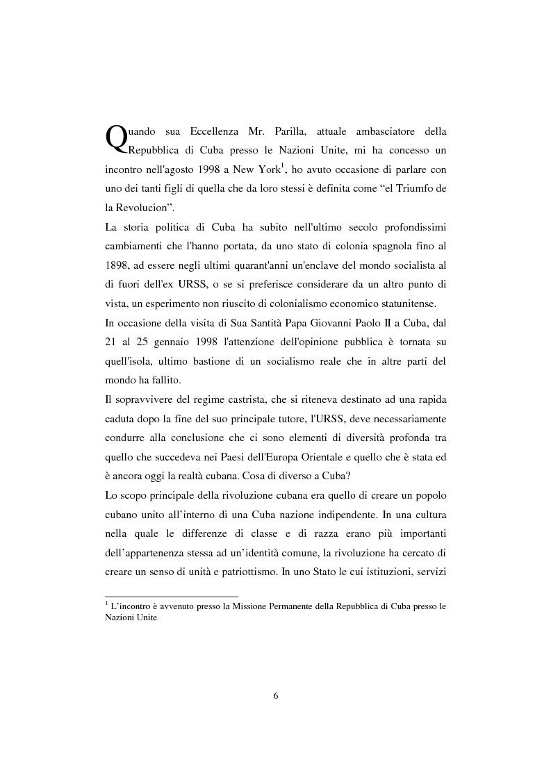 Anteprima della tesi: Cuba: quarant'anni di socialismo reale e prospettive per il futuro, Pagina 4