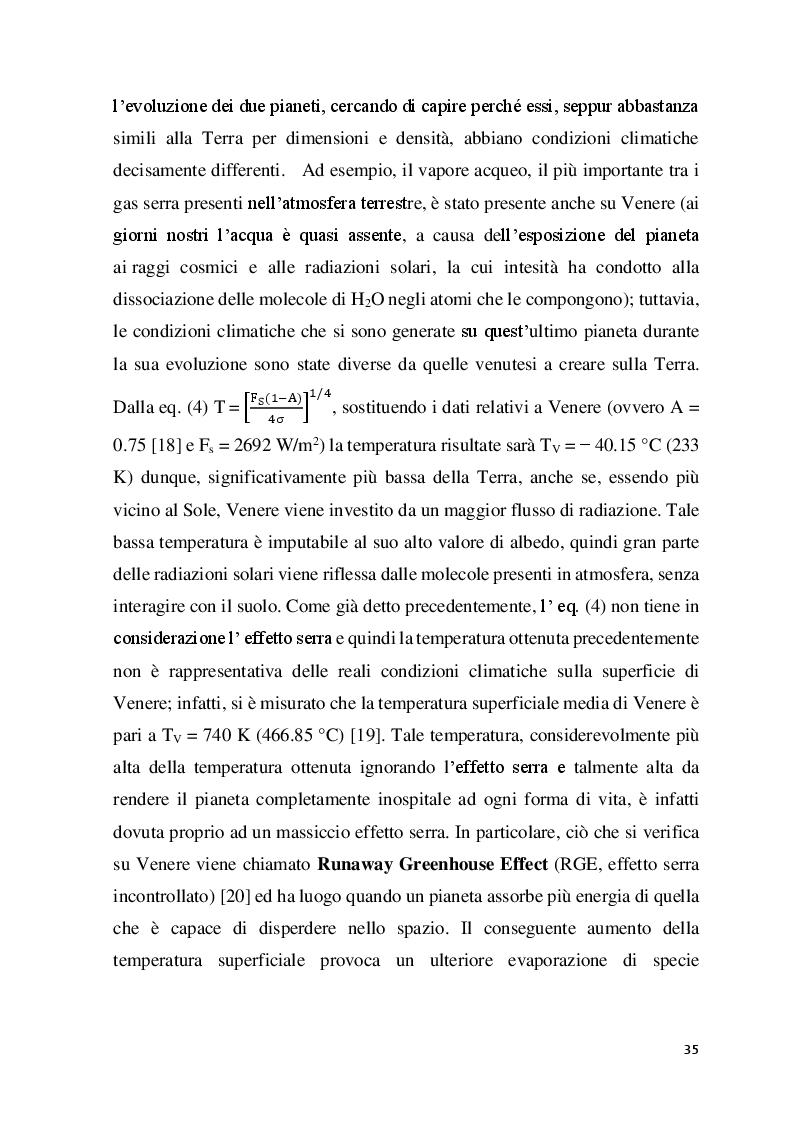 """Estratto dalla tesi: Chimica dell'Atmosfera: Implicazioni Spettroscopiche nella Modellizzazione dell' """"Effetto Serra"""""""