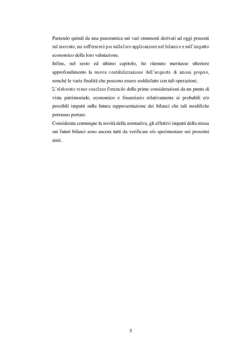 Anteprima della tesi: La nuova disciplina del bilancio civilistico alla luce delle novità introdotte dal D.Lgs. 139/2015, Pagina 3