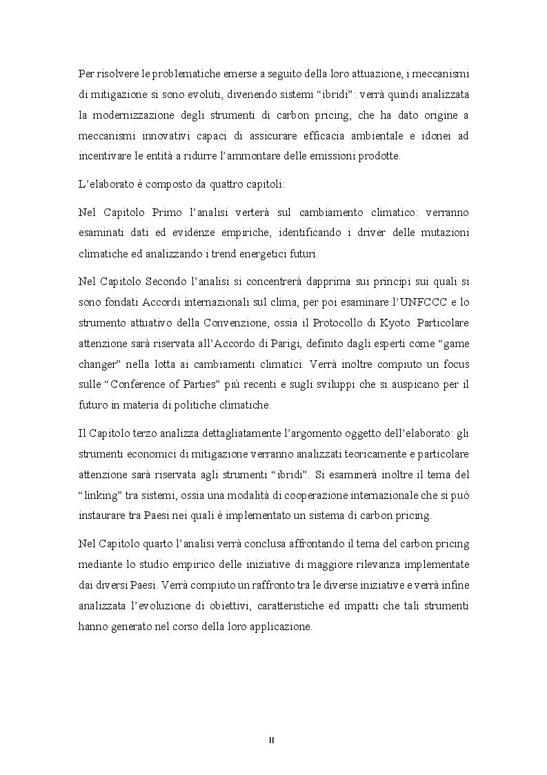 Anteprima della tesi: Cap and Trade e Carbon Taxes: analisi empirica e sviluppi futuri, Pagina 3