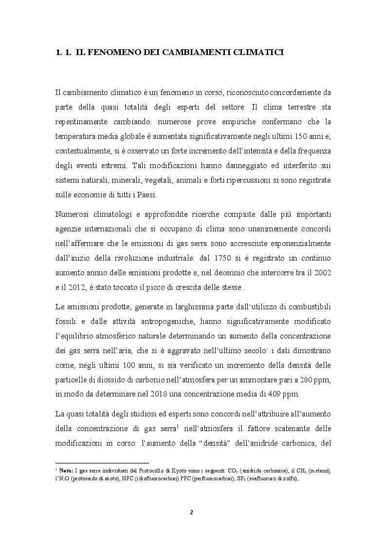 Anteprima della tesi: Cap and Trade e Carbon Taxes: analisi empirica e sviluppi futuri, Pagina 5