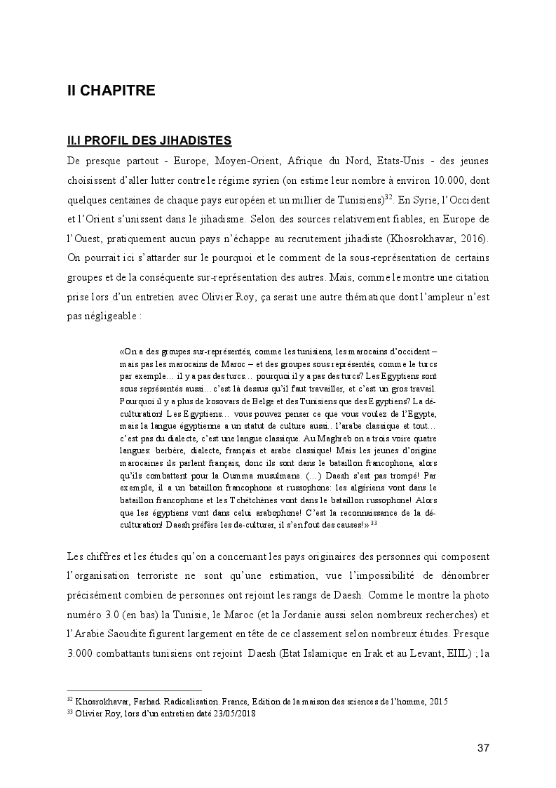 Anteprima della tesi: Le processus de radicalisation: prise de conscience, Pagina 2