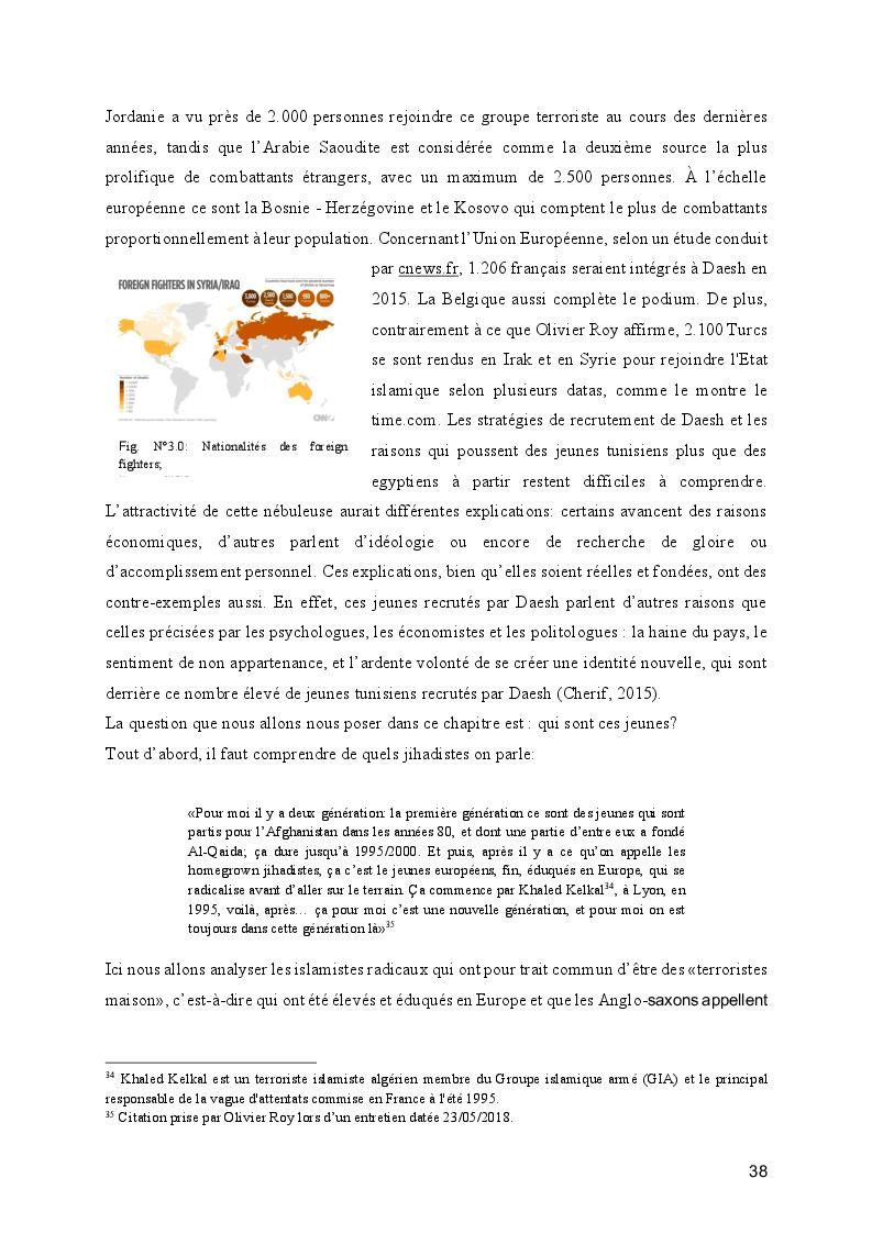 Anteprima della tesi: Le processus de radicalisation: prise de conscience, Pagina 3