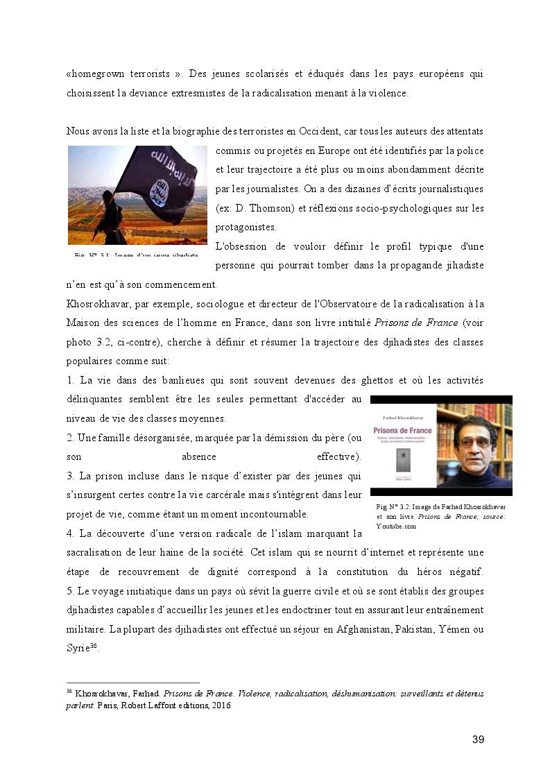Anteprima della tesi: Le processus de radicalisation: prise de conscience, Pagina 4