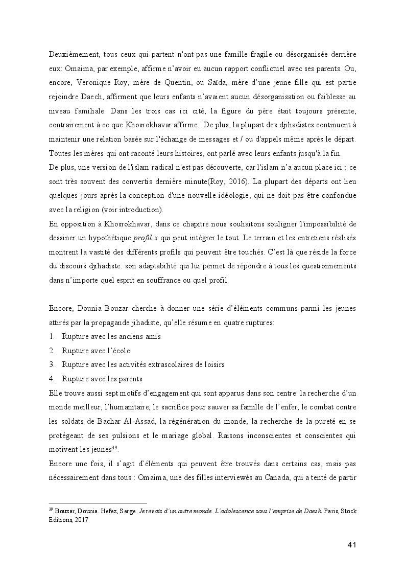Anteprima della tesi: Le processus de radicalisation: prise de conscience, Pagina 6