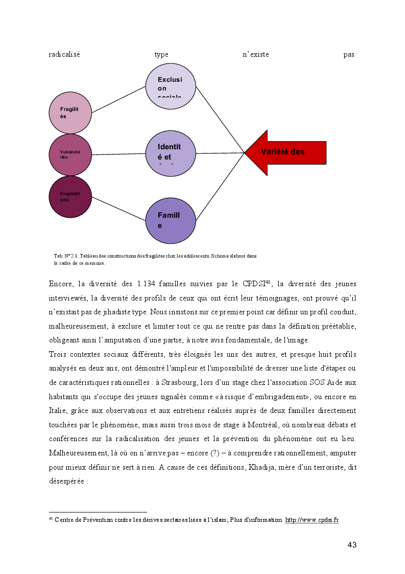 Anteprima della tesi: Le processus de radicalisation: prise de conscience, Pagina 8