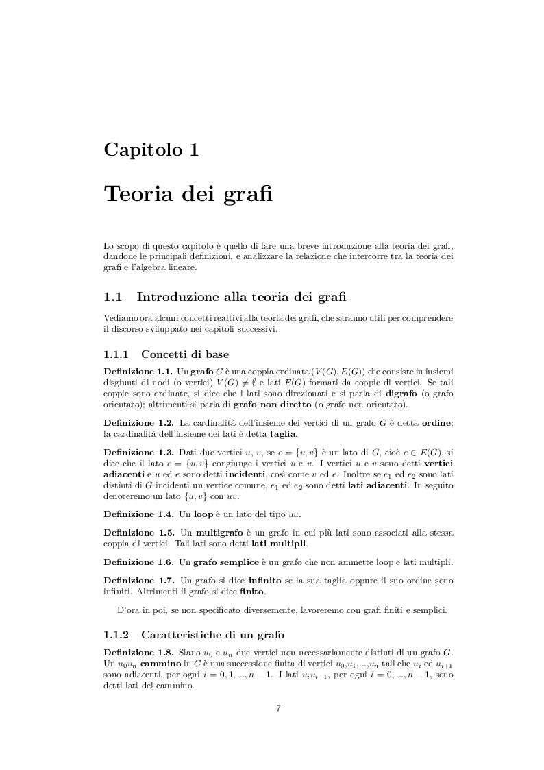 Anteprima della tesi: Codici Correttori da Grafi Espansori, Pagina 4
