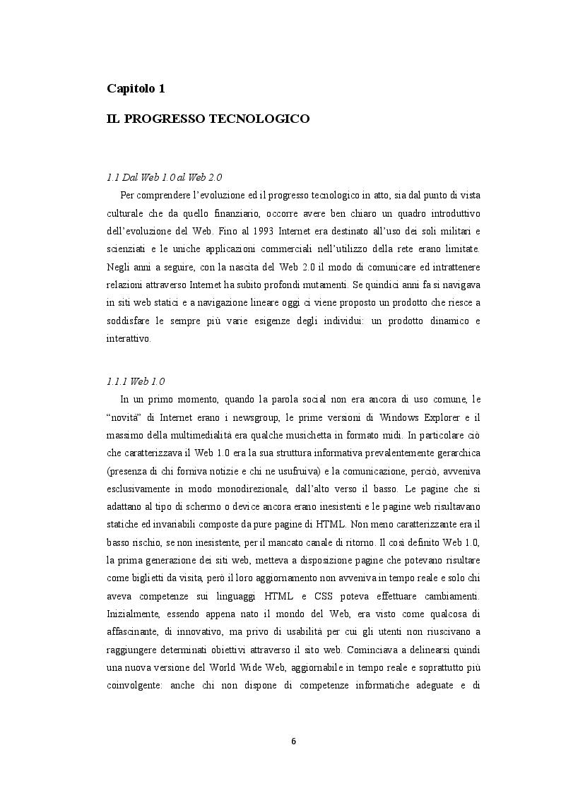 Anteprima della tesi: Crowdfunding. La finanza social al servizio della produzione culturale, Pagina 4