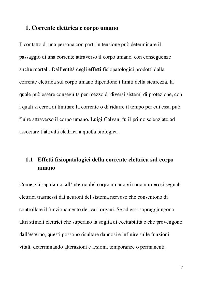 Anteprima della tesi: Lavori elettrici sotto tensione: aspetti normativi e organizzativi, Pagina 4