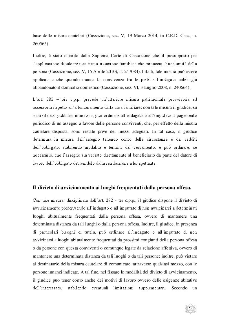 Anteprima della tesi: Le misure cautelari tra principi costituzionali ed esigenze di difesa sociale, Pagina 5