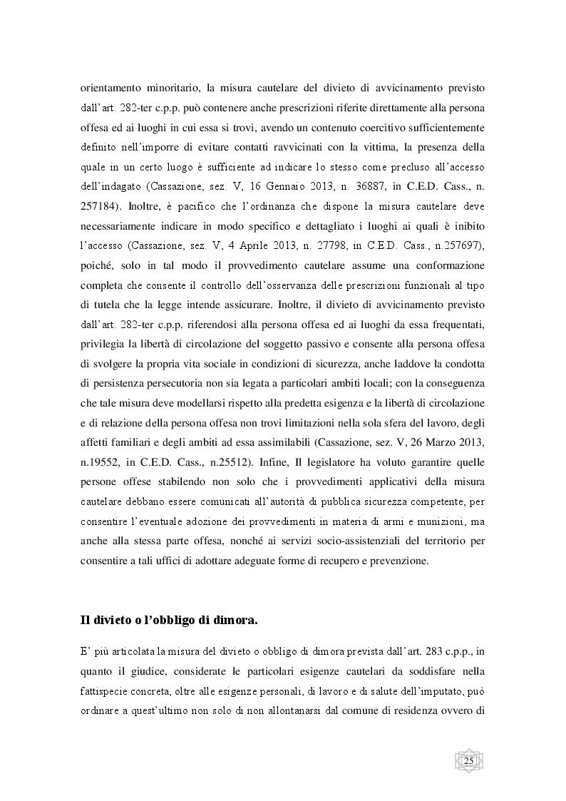 Anteprima della tesi: Le misure cautelari tra principi costituzionali ed esigenze di difesa sociale, Pagina 6