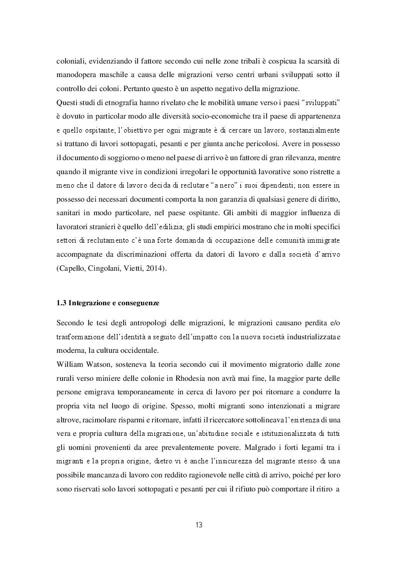 Estratto dalla tesi: Migrazioni e seconde generazioni: uno sguardo autoetnografico