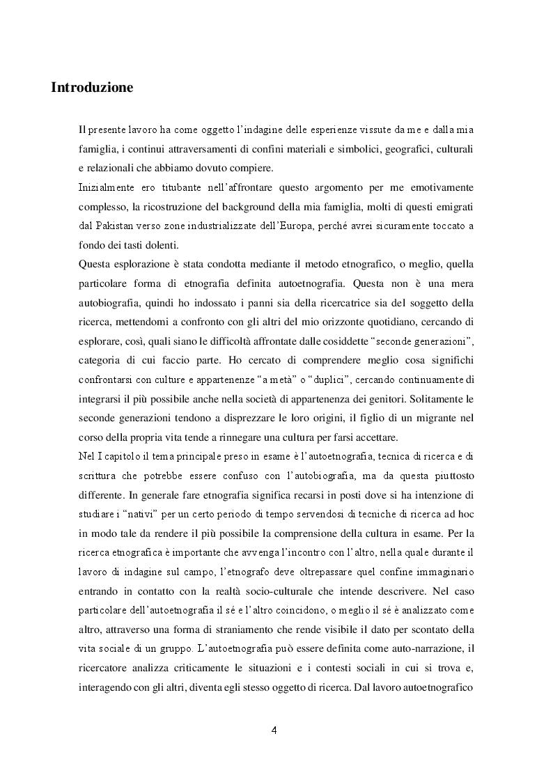 Anteprima della tesi: Migrazioni e seconde generazioni: uno sguardo autoetnografico, Pagina 2