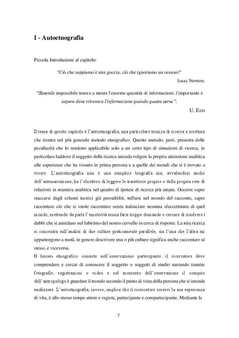 Anteprima della tesi: Migrazioni e seconde generazioni: uno sguardo autoetnografico, Pagina 5
