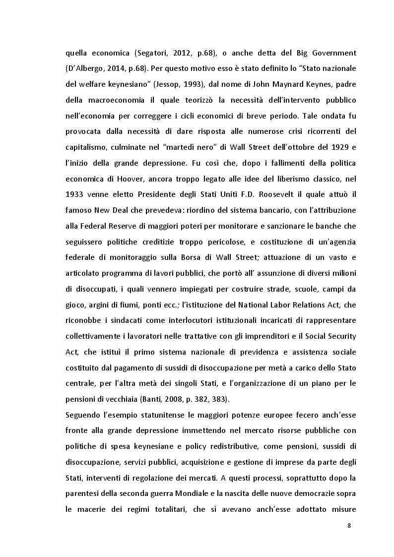 Anteprima della tesi: Potere politico e potere economico nell'era della globalizzazione: un rapporto complesso, Pagina 6