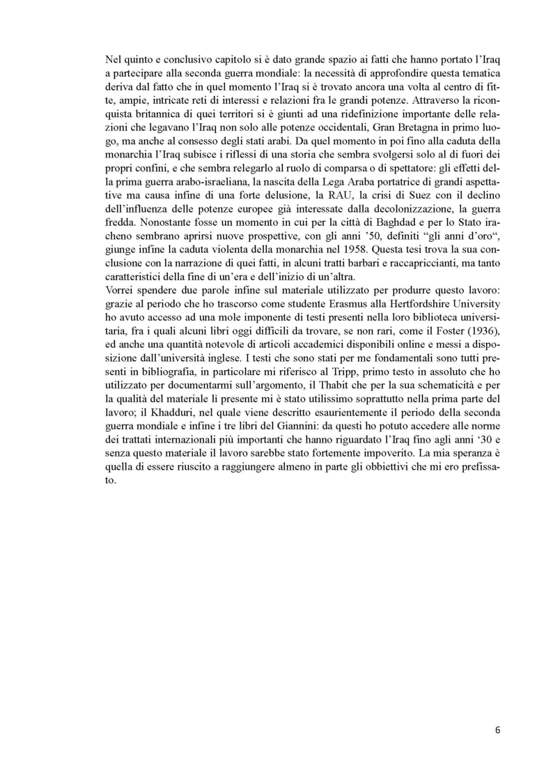 Anteprima della tesi: L'Iraq da provincia dell'Impero Ottomano alla caduta della monarchia (1514 - 1958), Pagina 4