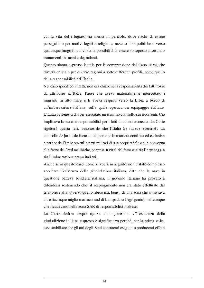 Estratto dalla tesi: La cooperazione Italia-Libia e le violazioni dei diritti dei migranti
