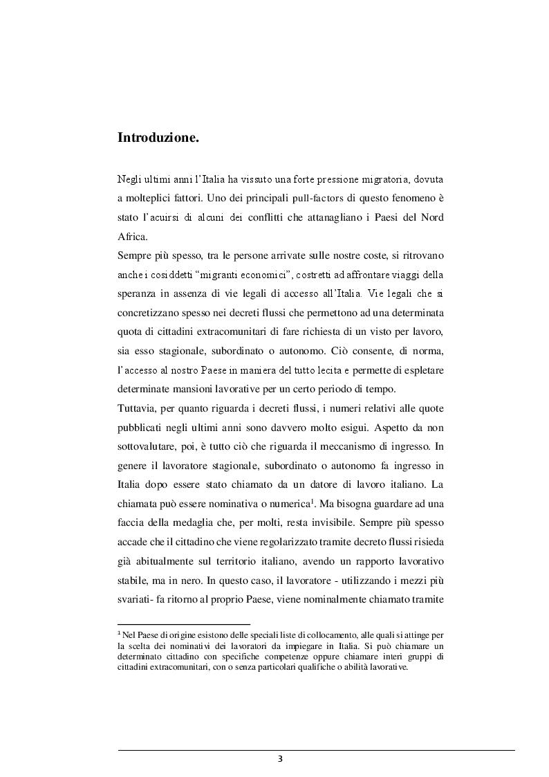 Anteprima della tesi: La cooperazione Italia-Libia e le violazioni dei diritti dei migranti, Pagina 2
