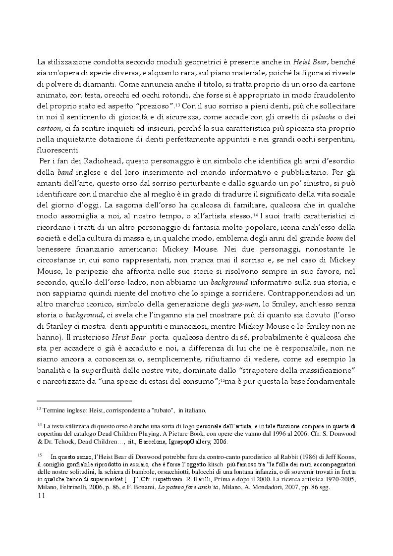 Estratto dalla tesi: Stanley Donwood - Tecniche e Metodi