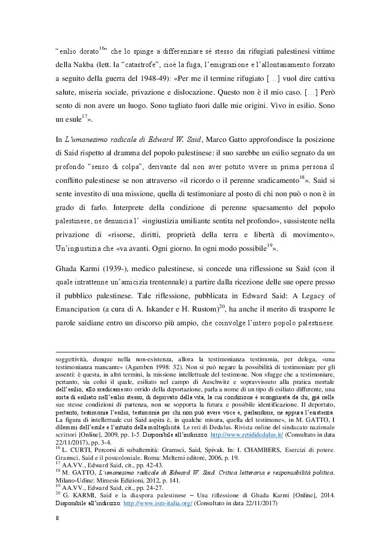 Anteprima della tesi: L'Orientalismo nella costruzione dell'identità e dell'alterità nell'arte coloniale italiana, Pagina 8