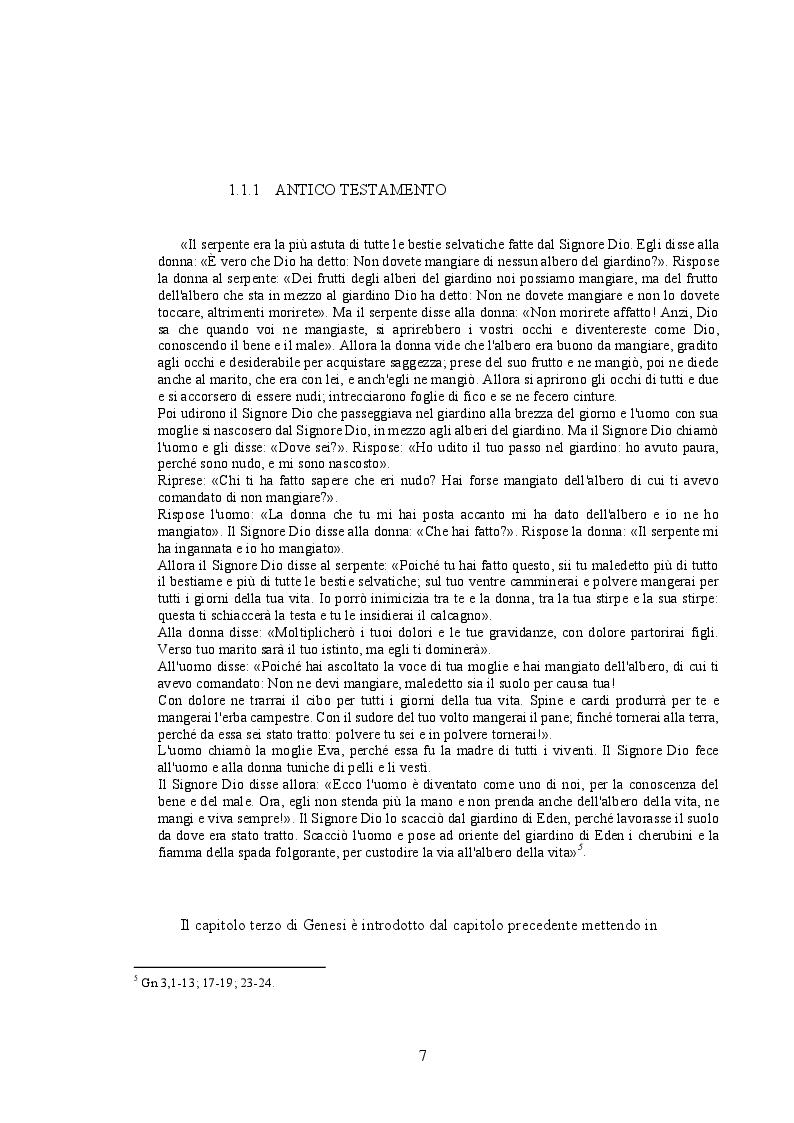 Anteprima della tesi: Cristo e il peccato nella teologia di Paolo: relazione tra due antitesi, Pagina 5