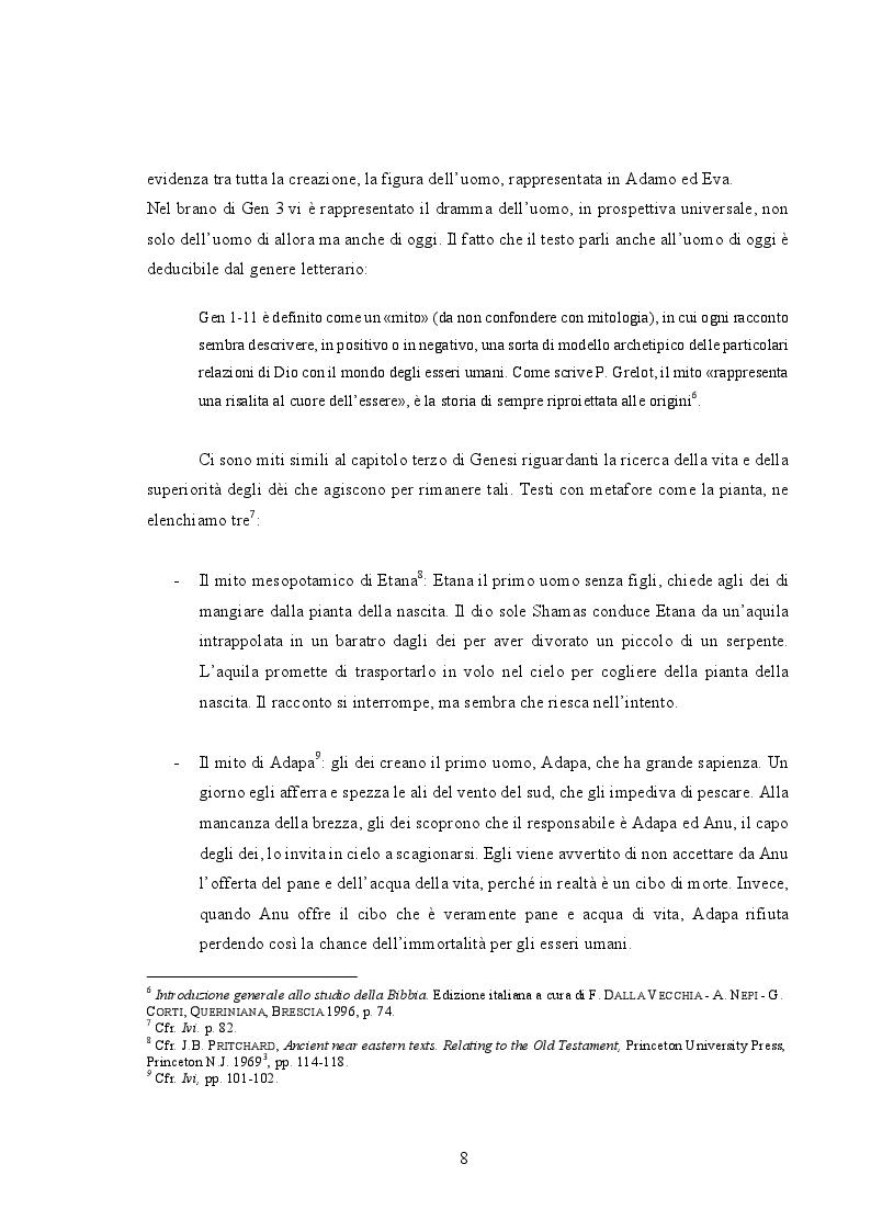 Anteprima della tesi: Cristo e il peccato nella teologia di Paolo: relazione tra due antitesi, Pagina 6