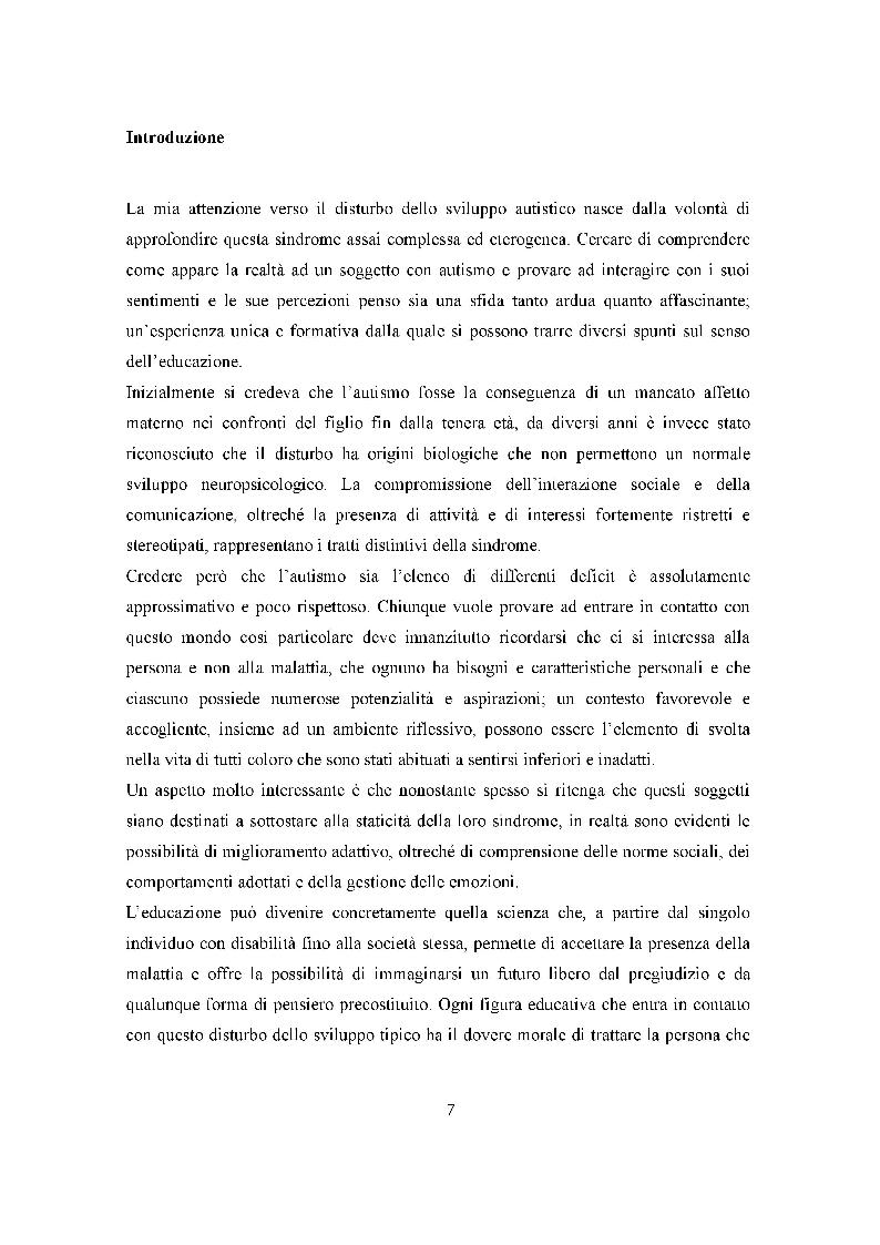 Anteprima della tesi: Autismo e Educazione. La Terapia Multisistemica in Acqua come prassi migliorativa., Pagina 2