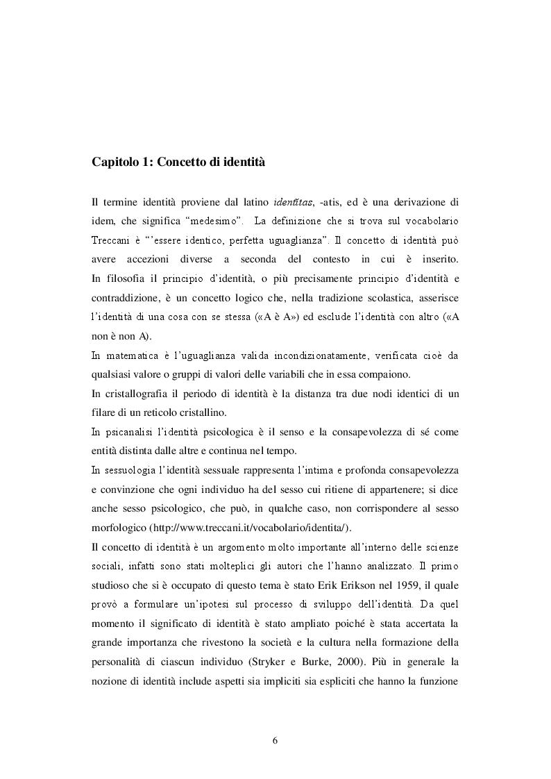 Anteprima della tesi: Identità personale e virtuale: due facce della stessa medaglia, Pagina 4