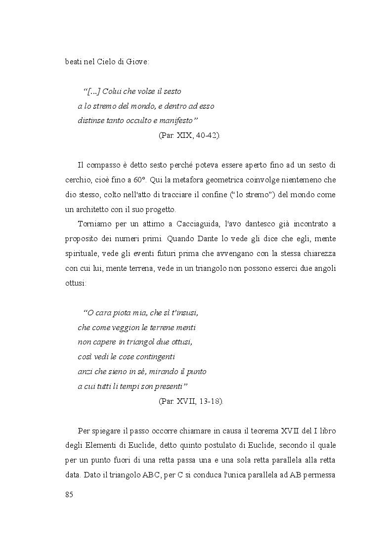 Anteprima della tesi: Le due culture: scienza e letteratura nella Commedia, Pagina 10